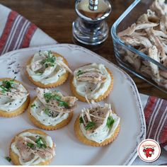 Giving thanks doesn't end with dinner. Reinvent your leftovers into creamy, cheesy snacks.  Ingredients: Creamy Swiss Garlic & Herb Turkey Cracked Pepper Cracker