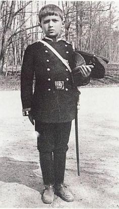 Tsarevich Alexei Nikolaevich Romanov of Russia.