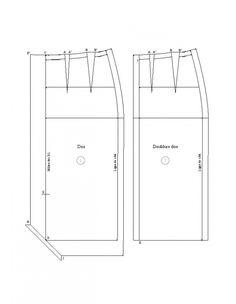 Fente bord à bord pour la jupe de base (luxe)