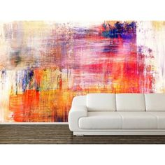 Vinyl Wall Murals blue grunge wall mural | wall murals, grunge and walls