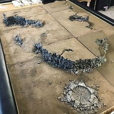 Picked up this badass modular table from a friend locally.. always wanted one of these things but was too intimidated to build one. Needs to be finished but the groundwork is done! I dub this... the Pangea setup!  #warhammer40k #wh40k #warhammer40000 #40k #paintingwarhammer #citadel #gamesworkshop #brushforhire #vallejo #rpg #painting #minipainting #miniature #gw #coolminis #instart #instartist #wargaming #horusheresy #30k #warhammer30k #astartes #scifi #paintingforgeworld #hardforheresy…