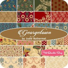 Georgetown by Judie Rothermel for Marcus Brothers Fabrics - October 2015