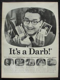 Vintage Polaroid advertising