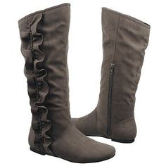 Grey boots...love them but wish they were mid-calf boots and not knee high!!
