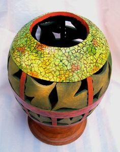 Recent Works | Gloria's Gourd Art | Gloria Christian