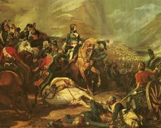 """Bonaparte at the battle of Rivoli (January 14, 1797),"" Felix Philippoteaux The Battle of Rivoli (14–15 January 1797) was a key victory in the French campaign in Italy against Austria."