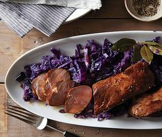 Beer Marinated Pork Tenderloin with Red Cabbage Photo - Cooking with Beer Recipe | Epicurious.com