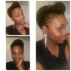 Sisterlocks Updo style. IG:@queen__mees  Pintrest: @Proverbs31x25