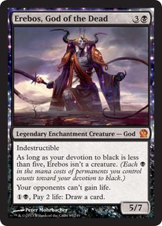Magic The Gathering Theros: Erebos, God of the Dead Card Kingdom