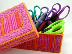 Make Your Own Crafty Storage Boxes. This with some ribbon could make a very pretty card box