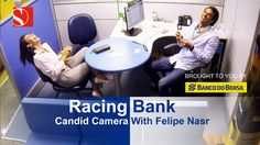 Formula 1 driver Felipe Nasr changed his race suit for a business suit and dressed up as a bank clerk. Video Team, F1 Season, Keep Fighting, F1 Racing, Image Collection, Formula 1, Candid, Bring It On, Videos