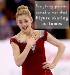 Figure skating costume facts!