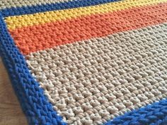 Crochet Cotton Rope Rug For Sale in Artane, Dublin from gercik
