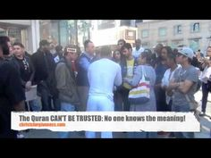 Quran can not be trusted. No one in the entire audience on many occasions (watch my videos) seems to think The English Quran is the Quran An avera. Jesus Resurrection, Jesus Christ, Quran In English, Lord And Savior, Holy Spirit, Meant To Be, Islam, Trust, Hate