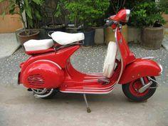 1957 Vespa 150 ACMA- very nice!!!