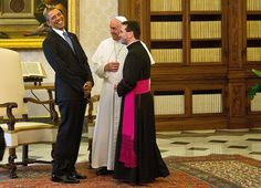 The Pope and President