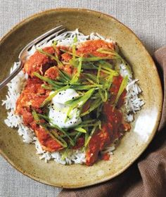 Chicken Tikka Masala with Crispy Snap Peas | Healthy dinner from Real Simple
