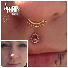 Affinity Tattoo and Piercing - Philtrum Johnny Pearce