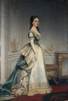 Jalabert, Charles Francois  Portrait of Nadezhda Polovtseva  France, Middle - second half of the 19th century