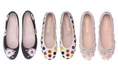 pretty ballerinas for spring or summer