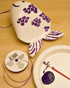 In this activity, kids learn a little about Japanese culture by making their own windsock in the shape of a koi fish.