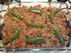 17 Day Diet Gal: Unstuffed Bell Peppers (C1 or C2)