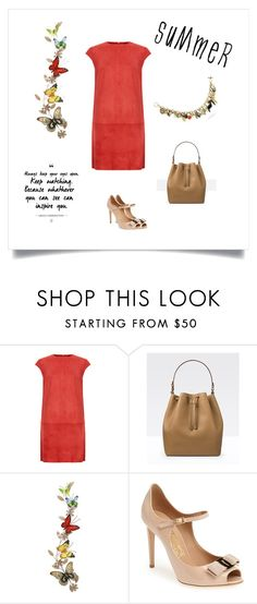 """#87"" by cindrof on Polyvore featuring Mode, MuuBaa, Ole Lynggaard, Benzara und Salvatore Ferragamo"