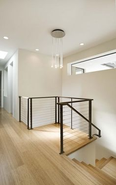 Love the clerestory window, and pretty much everything else about this stairway nook.