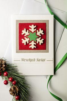 Christmas card, handmade by myself