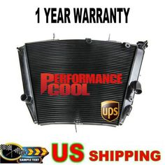 Pattern Replacement Aluminium Radiator for GSX-R 600//750 2001-2003