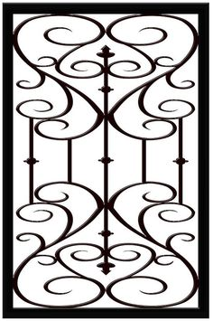Faux Iron Window Inserts from Apex Window Films - So reasonable priced.  Want these in the small window openings above the tall windows in the bedroom.