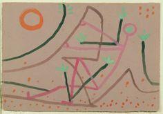 Metamorphose, 1935 (Gouache auf Karton)Paul Klee