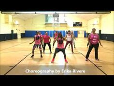 Ginza by J Balvin - Zumba Fitness with Erika Rivere - YouTube