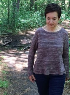 Simplicity Seamless Pullover Free Knitting Pattern
