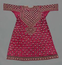 Wedding Tunic ( Aba) Khatrie Tribe , Gujarat . India. Circa Late 19 th Century