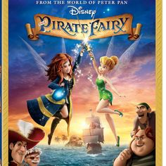 Check out the latest Tinker Bell adventure from Disney. Plus: Enter for a chance to WIN a copy of The Pirate Fairy!