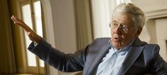 Collins writes: Charles Koch is 'disappointed' with the line-up of Republican candidates in the 2016 cycle, and is surprised by the lack of influence he and his brother have wielded so far.