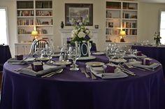 Purple and Gray Pennsylvania Wedding