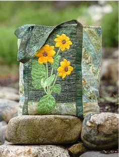 Nature's Beauty In Applique by Martingale | That Patchwork Place, via Flickr