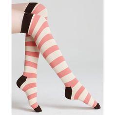 Women Crew Socks Thigh High Knee Starfish Watercolor Stripe Long Tube Dress Legging Sport Compression Stocking