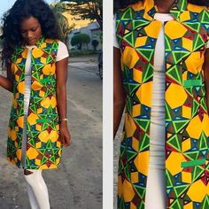 Vente de tenues Africaines, robe, jupe, top, vestes en pagne