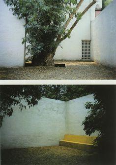 Casa Gálvez, calle Pimentel 10, Chimalistac, México DF, 1955 Arq. Luis Barragán Foto. Daniele Pauly - Galvez House, calle Pinentel10, Chimalistac, Mexico City, 1955