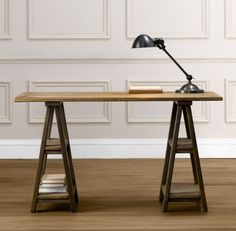 I have a similar desk from ikea.. just needs painting