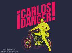 Carlos Danger T-Shirt Designed by TShirt Laundry  Source: http://teecraze.com/carlos-danger-t-shirt-2/