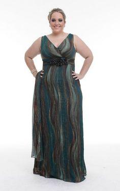vestidos de  formatura para gordinhas 2012 - imagem 7