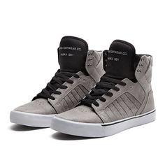 859ef342ba SKYTOP BLACK / WHITE-WHITE Supra Sneakers, Supra Shoes, High Top Sneakers,