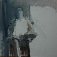 oil and charcoal Mark Horst