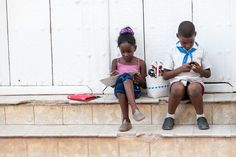 Children in Cuba 2013