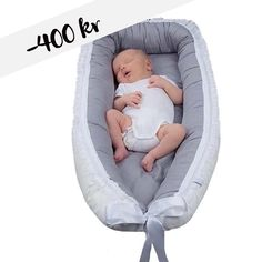 -400 KR • Babynest Luxury Grey with lace — ✨ LAST CHANCE ✨  Once in a lifetime sale on  BABYNEST LUXURY GREY WITH LACE  All packages are shipped the next day and received within 2-4 days 🌿  Give your baby a safe start with Vintagefleurs oeko-tex certified babynest 🌿
