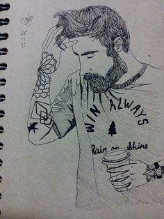 Man/Beard/Tattoos